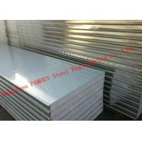 China Insulated Waterproof Corrugated EPS Sandwich Panels Heat Resistant Wall Panel on sale