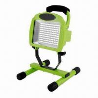 Buy cheap IP65 Rechargeable LED Floodlight with 1400mAh Li-ion Battery, AC/DC Adapter and 12V Car Charger product