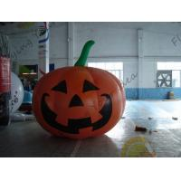 Buy cheap Inflatable Vegetable Shaped Balloons , Air Tight 2.5m Inflatable Pumpkin product