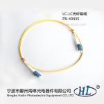 Buy cheap LC duplex UPC/SM G652D 9/125 fiber optic patch cords made of advance ceramic ferrule product