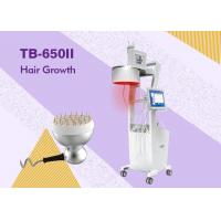 Buy cheap Diode Laser Hair Loss Therapy Laser Hair Growth Machine / Equipment with 3 Color LCD product