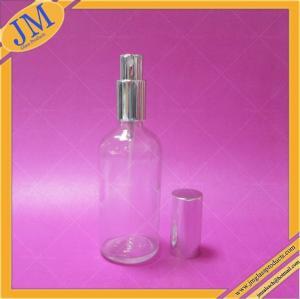оптовые 100мл освобождают стеклянную бутылку с серебряным спрейером