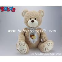 Buy cheap ASTM Approved Cuddly Wheat Teddy Bear Toy With Scarf product