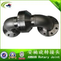 Buy cheap Hydraulic rotary joint for stainless steel double bend flange connection product