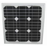 Buy cheap Solid 2.7kg LED Light Solar Panel 25W Stable Maximum Power Voltage 17.9V 1.34A product