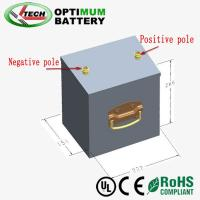 Buy cheap Deep Cycle Longlife  Lifepo4 Motorcycle Battery For Lamp 48v 30ah product