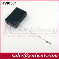 Buy cheap Market Purchase Retractable Retail Security CableWith Ring Terminal 7.1x4.5x2.1 Cm product