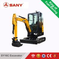 China SANY SY16C 1.6 ton Mini Excavator For Sale Cheap on sale