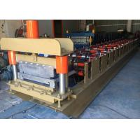 460 Standing Seam Roll Forming Machine , Profile Roofing Sheet Making Machine India Design