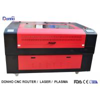China Red Protective Cover CO2 Laser Cutter , CNC Laser Cutting Machine For Acrylic on sale