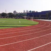 China Gym Slipproof Flexible All Weather Synthetic Sports Flooring on sale