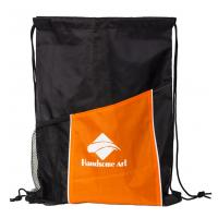 Buy cheap New Hot Selling Polyester Drawstring Bag with Pocket-HAD14022 product