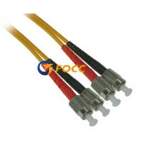 China APC Polish Type 3.0mm FC Duplex Single Mode Fiber Optic Cable PVC Sheath Fiber Patch Cable on sale