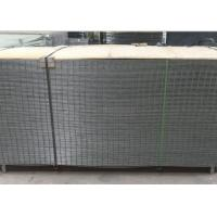 Buy cheap 4X4 Electro Galvanized Welded Wire Fence Panels For Buliding , Wear Resistant product