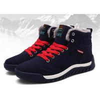 Buy cheap Warm / Comfortable Mens Winter Work Shoes , Cow Suede Safety Shoes OEM / ODM  Available product