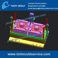 Buy cheap 200ml IML round food containers mould,PP thin wall container mould with in mould labelling product