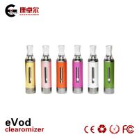 China Red ODM 650mAh 1.6ml EGO E Cig Bottom Heating With USB Charger wholesale