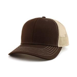 Buy cheap Custom Cotton Twill 6 Panel Blank Trucker Cap Plastic Buckle product