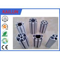 Buy cheap 4040 Anodized T Shaped Aluminum Extrusions , T - Slotted Extruded Aluminum Rails product