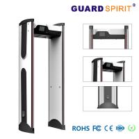 Buy cheap 7 Inch Lcd 299 Level Sensitivity Walkthrough Metal Detector Archway With Backup Battery product