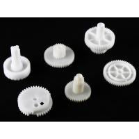 Different size Gears custom molded plastic parts HASCO