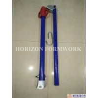 Buy cheap Push Pull Brace Wall Formwork Systems , Powder Coated Wall Shuttering System product