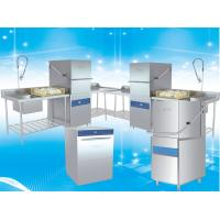 Buy cheap High Speed Hood Type Dishwasher For Restaurant Easy Operation 107KG product