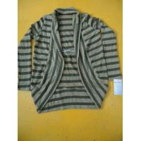 Buy cheap Multi Striped Wool Fashionable Winter Coats Long Sleeves Womens Winter Capes product