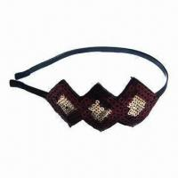Buy cheap Hairband in Various Colors, Lead- and Nickel-free, Elegant Design product