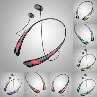 Buy cheap V4.0 EDR Sports noise cancelling bluetooth earbuds / headset for music and calls product