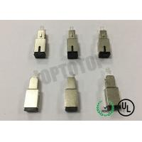 Buy cheap SC UPC APC Metal Material Optical Fiber Attenuator WDM and DWDM systems channel balancing product