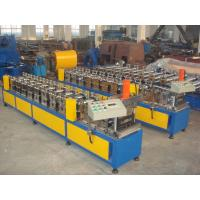 Buy cheap Colored Steel Gutter Steel Sheet Roll Forming Machine With PLC Control System product