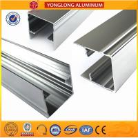 Buy cheap 1.1 Thinckness Polished Aluminium Alloy Profile Surface Brightness product