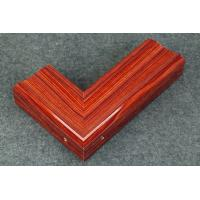 Buy cheap Extruded Aluminum with Wood Grain Finish product