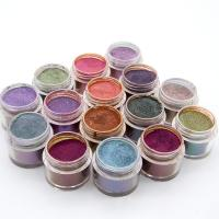 Buy cheap 15colors Magic Glitter Nail Art Dipping Powder Holographic Chrome Mirror Chameleon Nail Powder product
