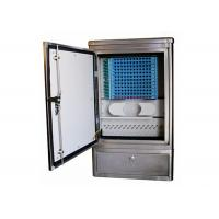 Buy cheap Ground Cross Connect Cabinet Stainless Steel Fiber Optic Equipment Max. 144 Cores product
