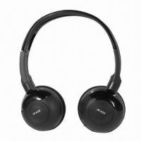 Buy cheap Swivel Style Infrared Wireless Headphones for Car Entertainment, with Stereo Sound and Soft Earcup product