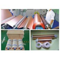 Buy cheap 6 Mic LB Double Shiny ED Copper Foil , RoHS / SGS Approval Pure Copper Foil product