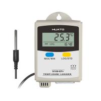Grey Color Temperature Humidity Data Logger For Temperature Measurement
