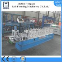 Buy cheap ISO Roller Shutter Forming Machine , 8 - 10m / Min Work Speed Shutter Rolling Machine product