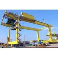 China 50T Movable Shipping Container Crane , RMG Rail Mounted Gantry Crane on sale