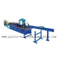 Buy cheap PLC Control System High Speed Light Stud Track Roll Forming Machine product