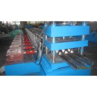 Buy cheap Galvanized Guardrail Roll Forming Machine for Making Highway Safety Barrier Protections Export to EU Countries product