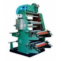 Buy cheap 2 Color Flexo Printing Machine Accurate Registration / Clear Printing product
