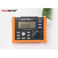 Buy cheap Multifunctional Earth Ground Resistance Tester 0 Ohm To 4K Ohm And 100 Groups Display product