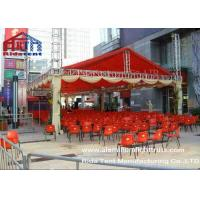 Quality 400mm Spigot Triangle Stand Lighting SystemDouble PVC Fabric Cover For Outdoor Concert for sale
