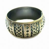 Buy cheap Popular Metal Bangle, Ancient Style, Various Designs are Available product