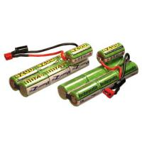 Buy cheap 600mAh 8.4V NIMH Battery Packs , Air Soft Gun Battery With Capacity product