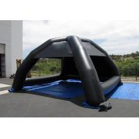 Black Advertising Inflatable Tent Logo Printing Inflatable Dome Tent For Event