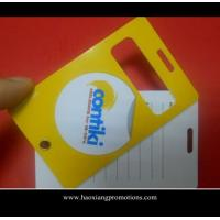 Buy cheap Promotional gift Personalized full color print plastic ID pvc luggage tag product
